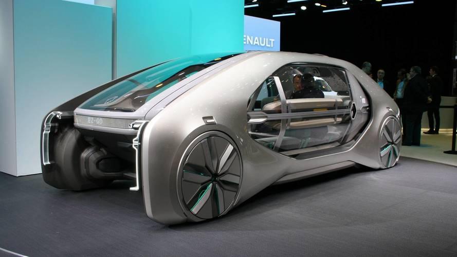Renault EZ-GO Concept Live From Geneva Motor Show