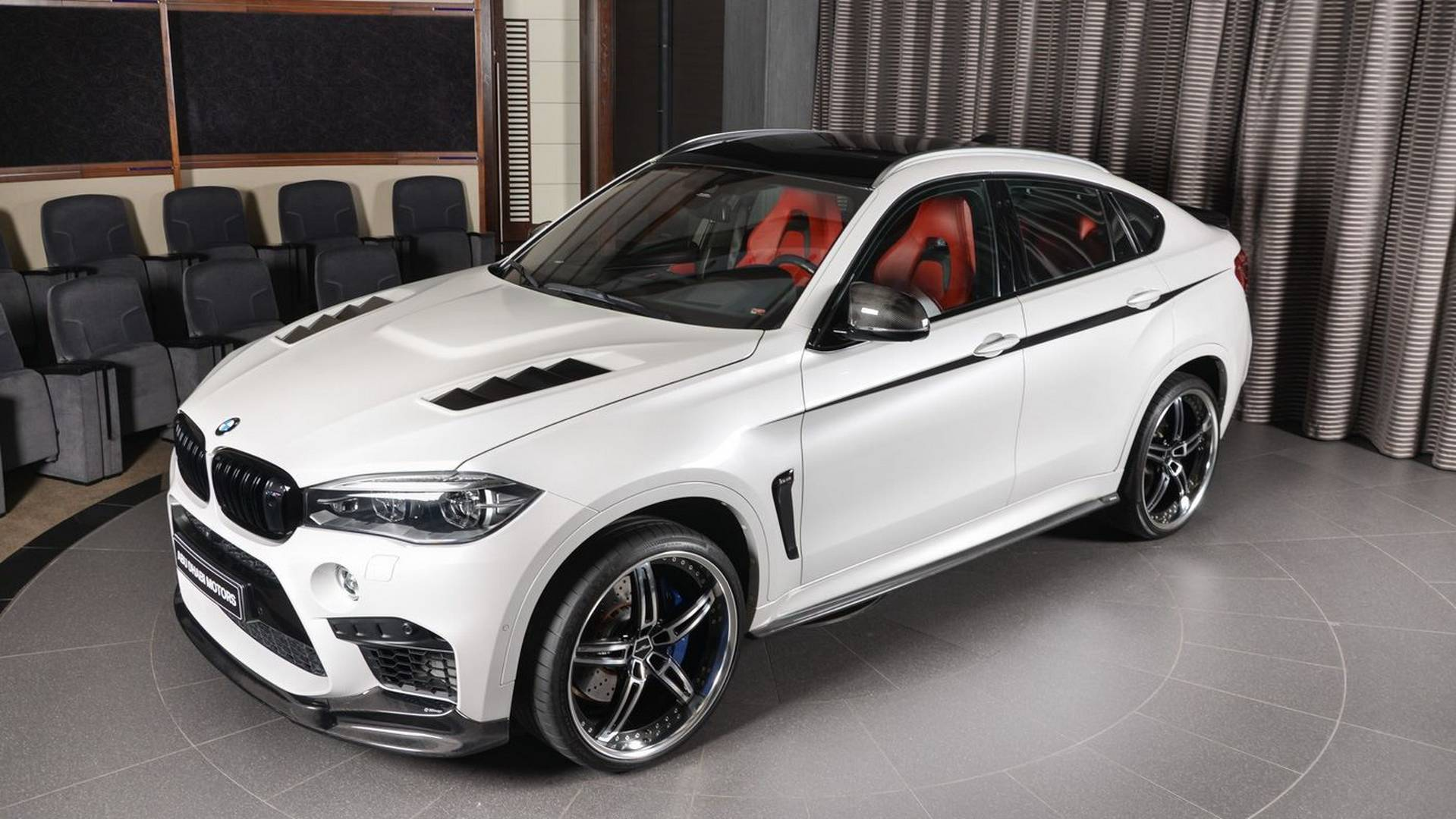 bmw x6 m with 23 inch wheels makes the urus look restrained. Black Bedroom Furniture Sets. Home Design Ideas