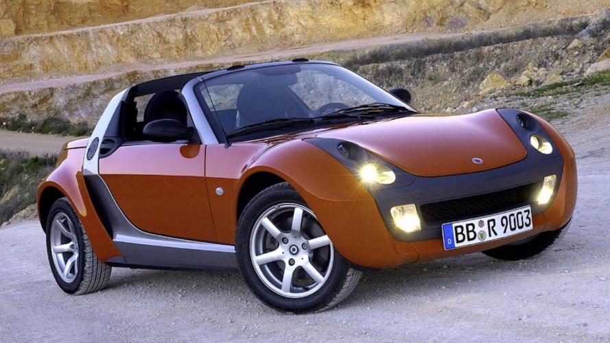 Smart Roadster, la sportiva dalla storia breve
