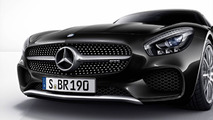 Mercedes-AMG GT with Silver Chrome Package