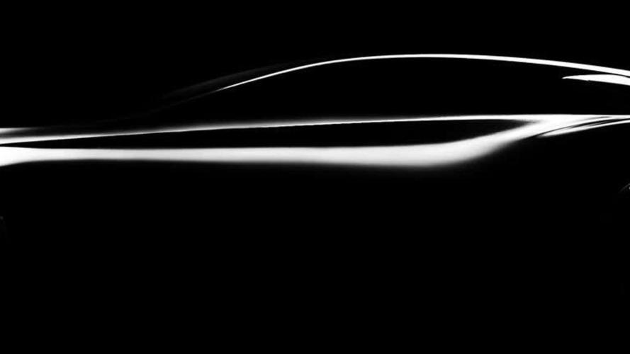 Infiniti Q80 Inspiration fastback concept teased prior to Paris reveal