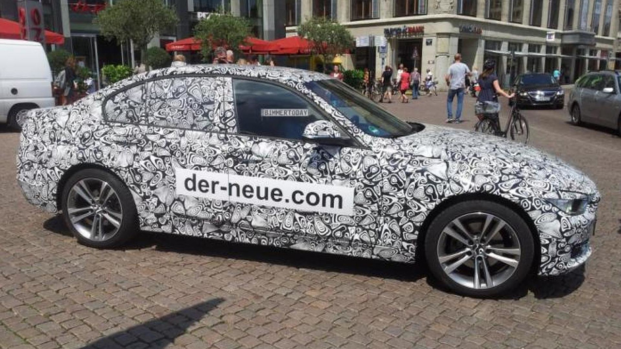 BMW 3-Series camouflaged by Jaguar