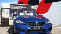 BMW M6 Convertible for the 2015 MotoGP best qualifier