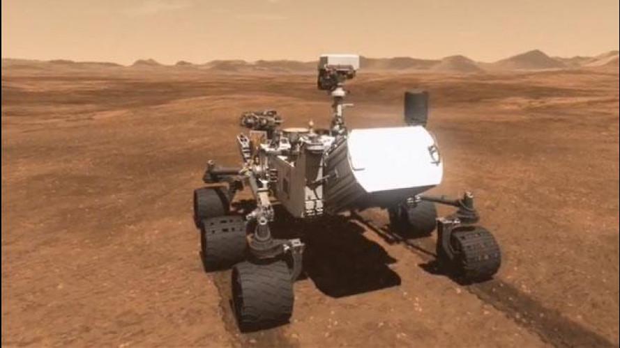 Curiosity, un'auto speciale è atterrata su Marte