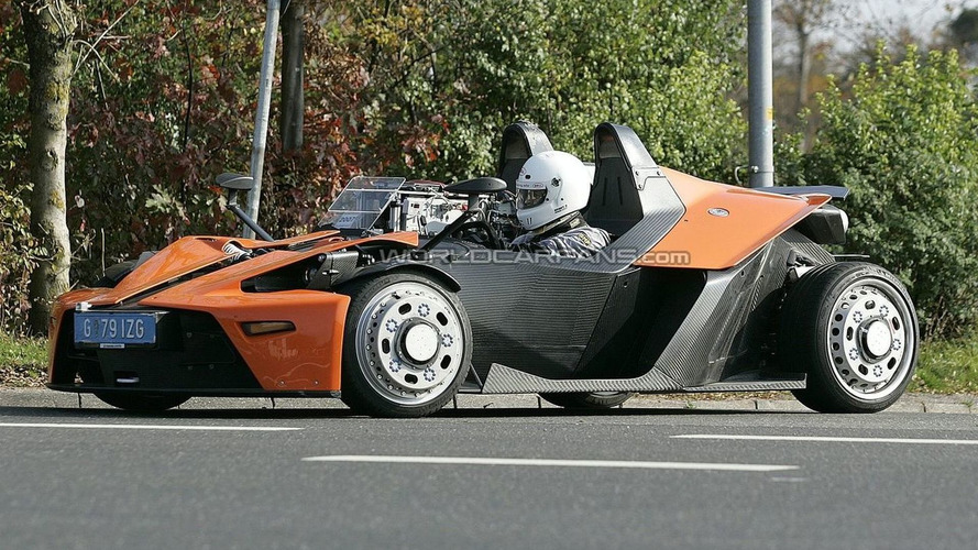 2008 KTM X-Bow Spied On The Ring