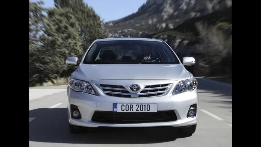Toyota mantém o posto de maior fabricante mundial de carros