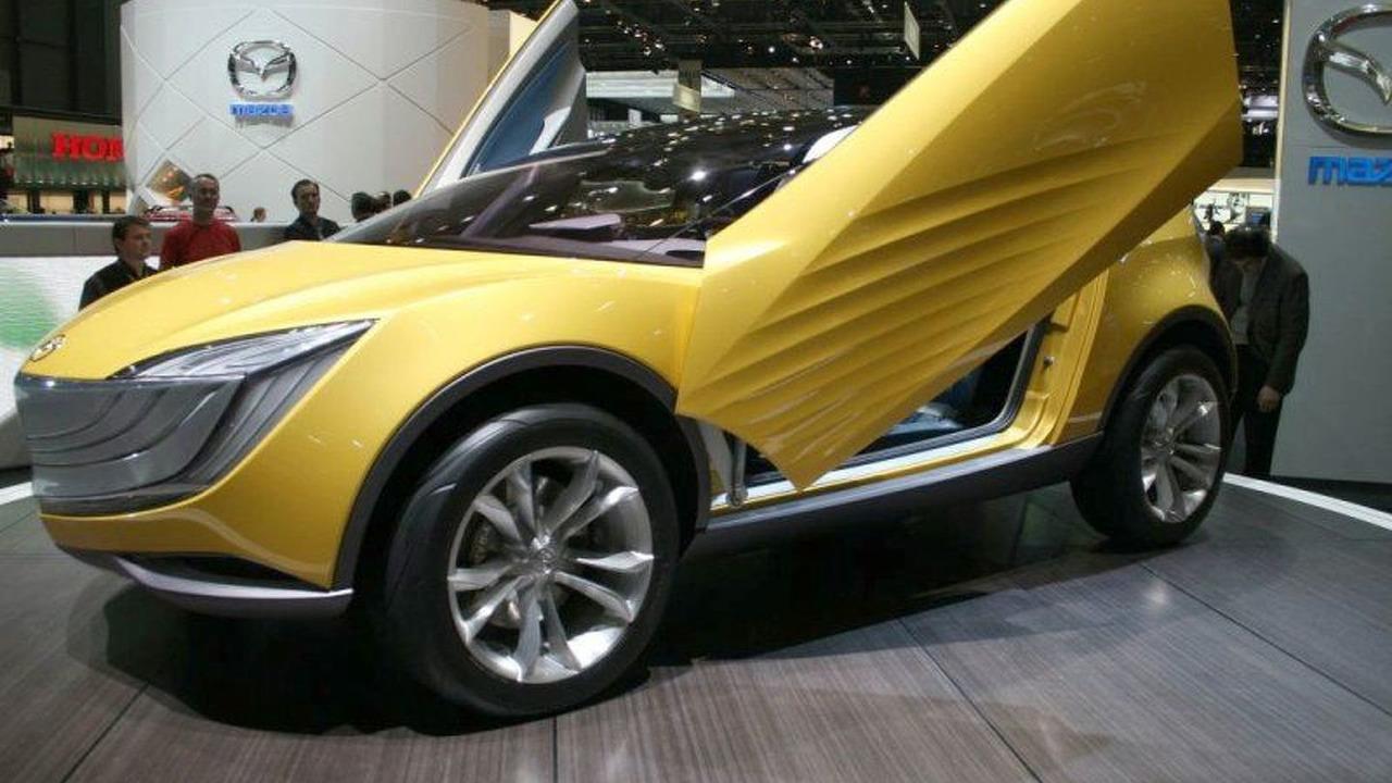Mazda Hakaze Concept at Geneva
