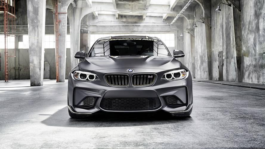 Több mint 60 kilót fogyott az M2: íme a BMW M Performance Parts Concept