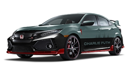 Charlie Puth Creates Exterior Finish For Honda Civic Type R
