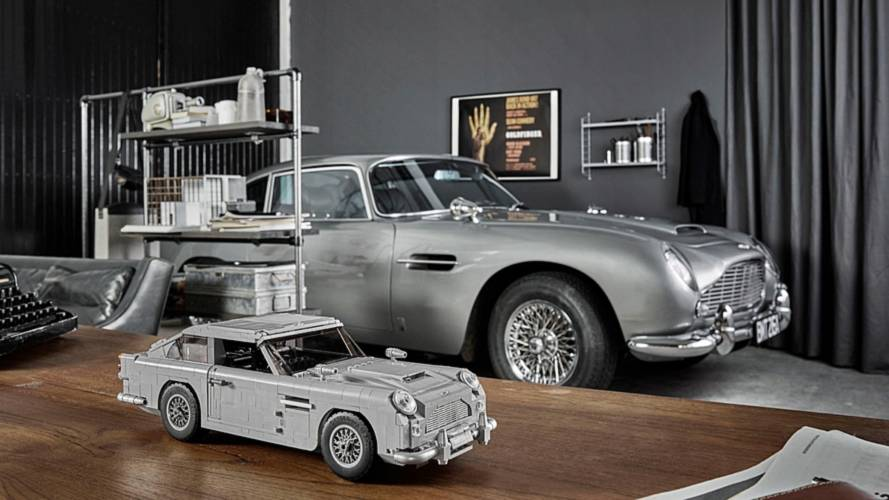 Lego presenta el Aston Martin DB5 de James Bond