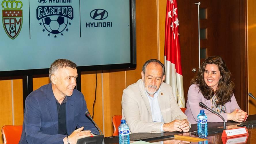 Campus Hyundai: formación para jóvenes futbolistas sin recursos