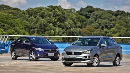 Mais vendidos na quinzena: Fiat Cronos surge à frente de Virtus e Prisma em julho