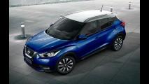 Nissan mostra quatro possíveis combinações de duas cores para o Kicks