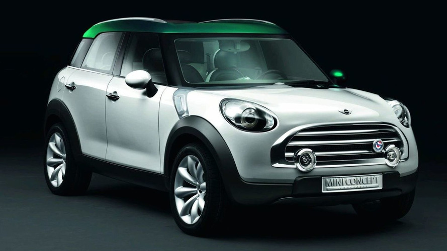 Mini Crossover Concept Revealed Ahead of Paris Unveiling Next Month