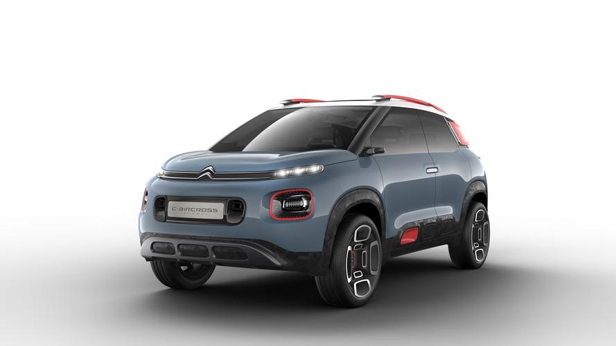 Citroën présente le C-Aircross Concept, pour Genève