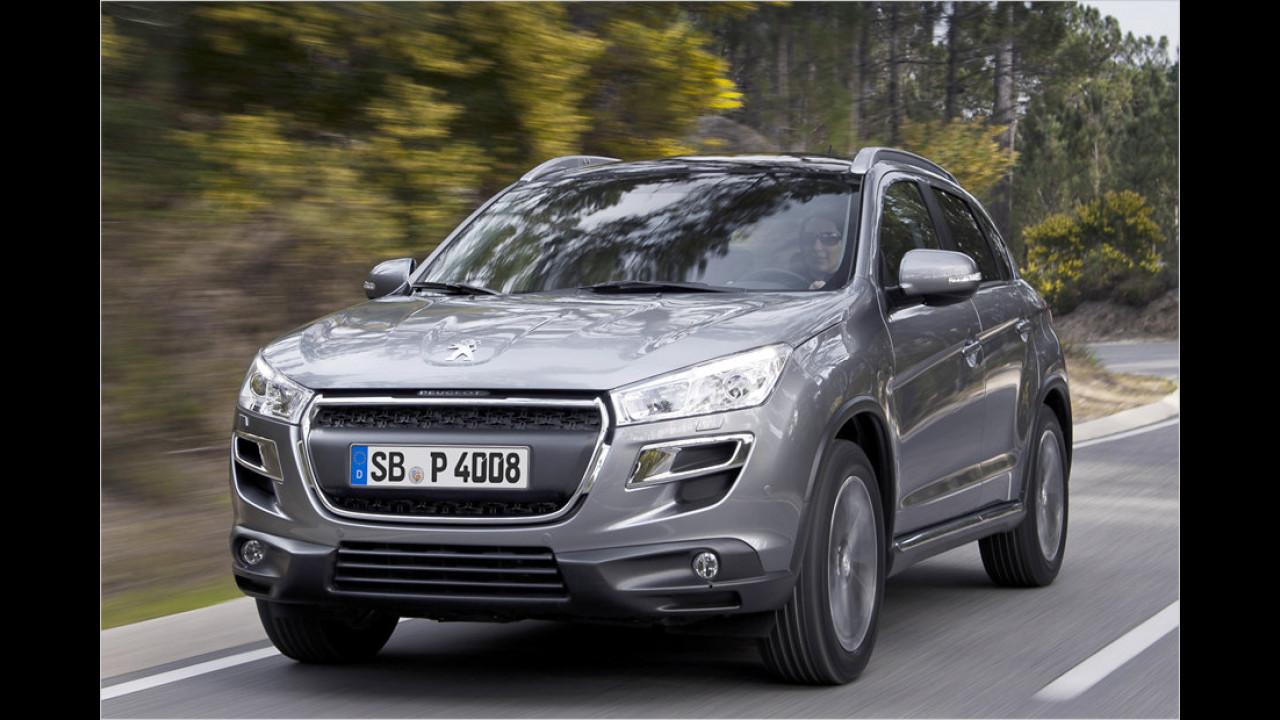 Peugeot 4008: Drilling im Löwen-Look