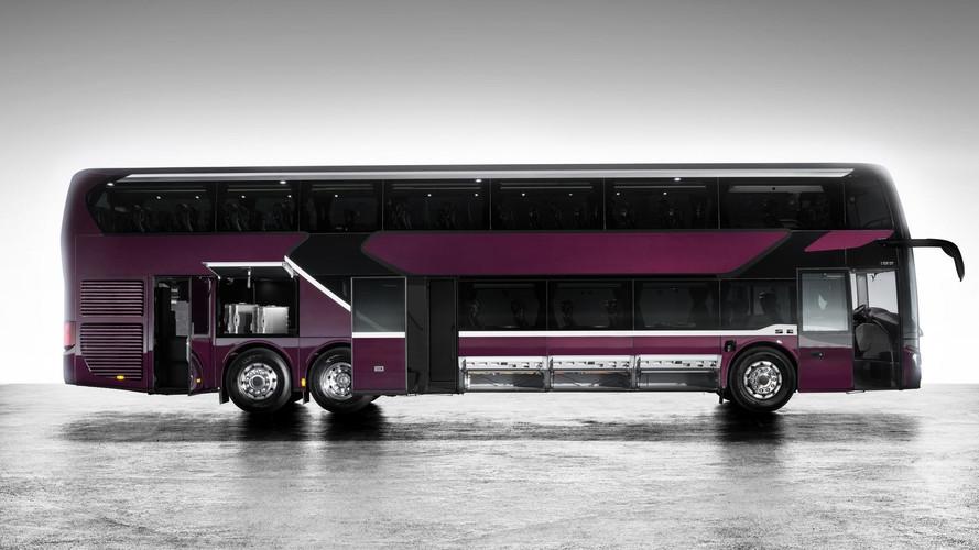 Setra S 531 DT – bemutatkozott a Daimler legújabb fejlesztésű emeletes busza