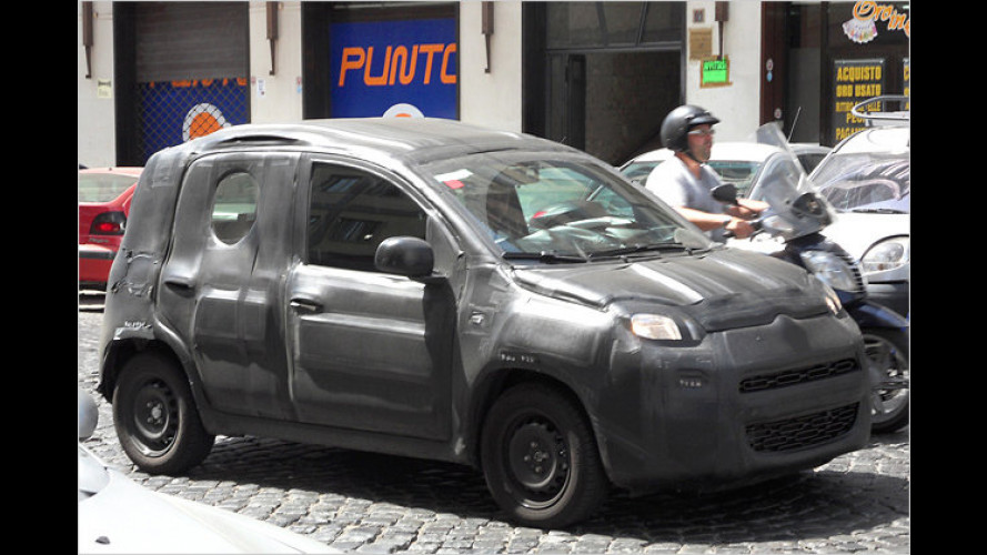 Erwischt: Neuer Fiat Panda