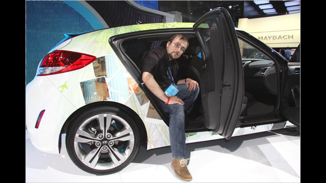 Detroit 2011: Hyundai Veloster