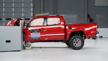 2017 IIHS Mid-Size Pickup Crash Tests