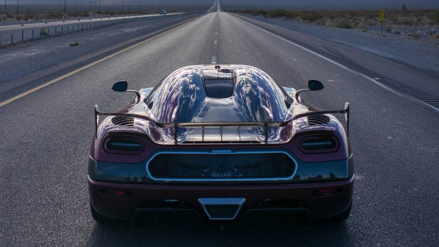 What does a 285mph Koenigsegg run look like inside the cabin?