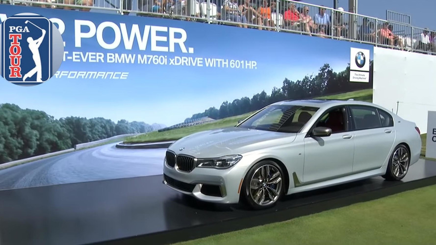 Golfer Does Hole-In-One To Win BMW M760i; Donates It To Charity