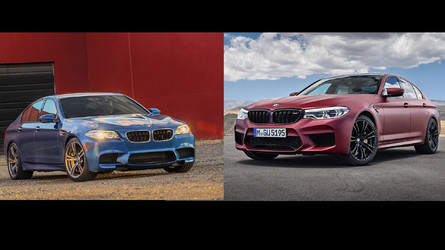 2018 BMW M5: See The Changes Side-By-Side