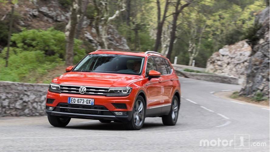 Essai Volkswagen Tiguan Allspace (2017) - De cinq à sept