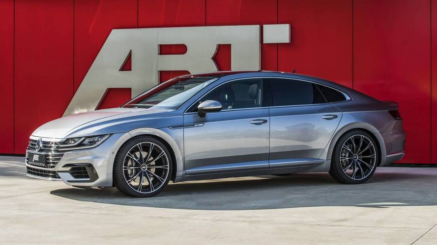 Beauty Meets Muscle: VW Arteon Dialed To 336 HP