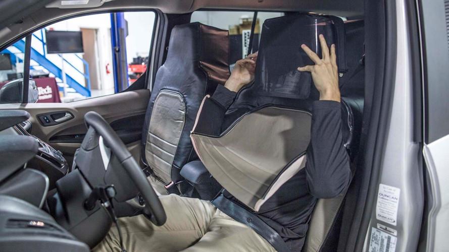 Ford Seat Suit For Virginia Tech Autonomous Communications Study