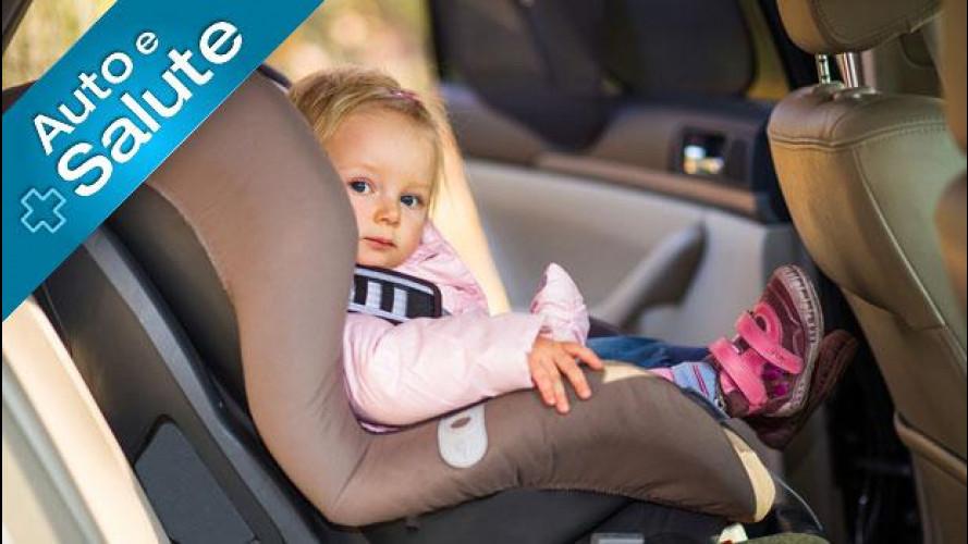 Bambini in auto, come si trasportano in sicurezza
