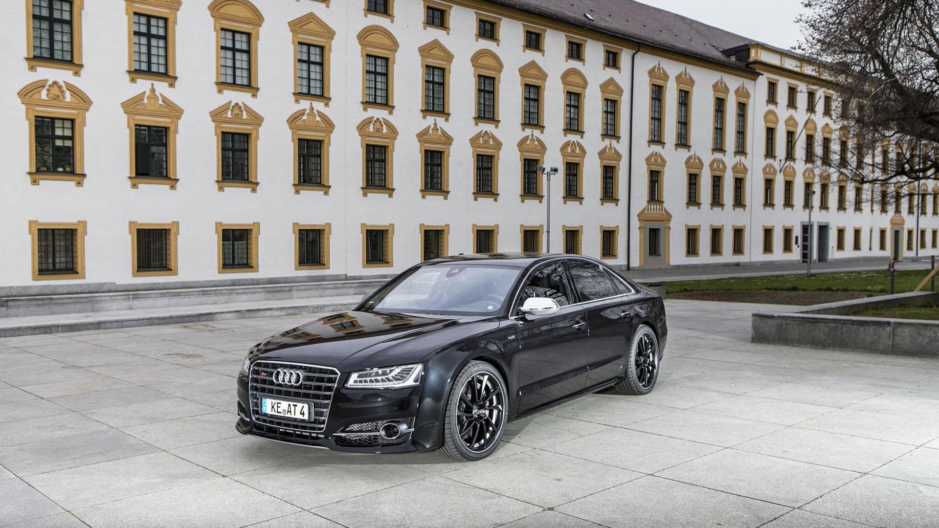 Чёрная Audi S8. Тюнинг от ABT Sportsline