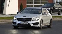 Mercedes-Benz CLA 45 AMG Shooting Brake spy photo