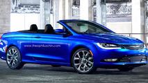 2015 Chrysler 200 Convertible render