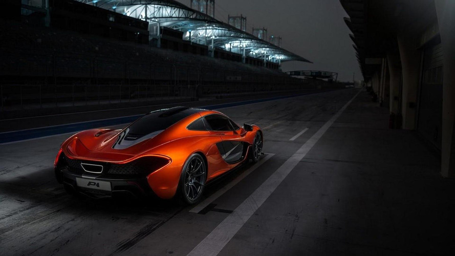 McLaren P1 concept photo appreciation in Bahrain
