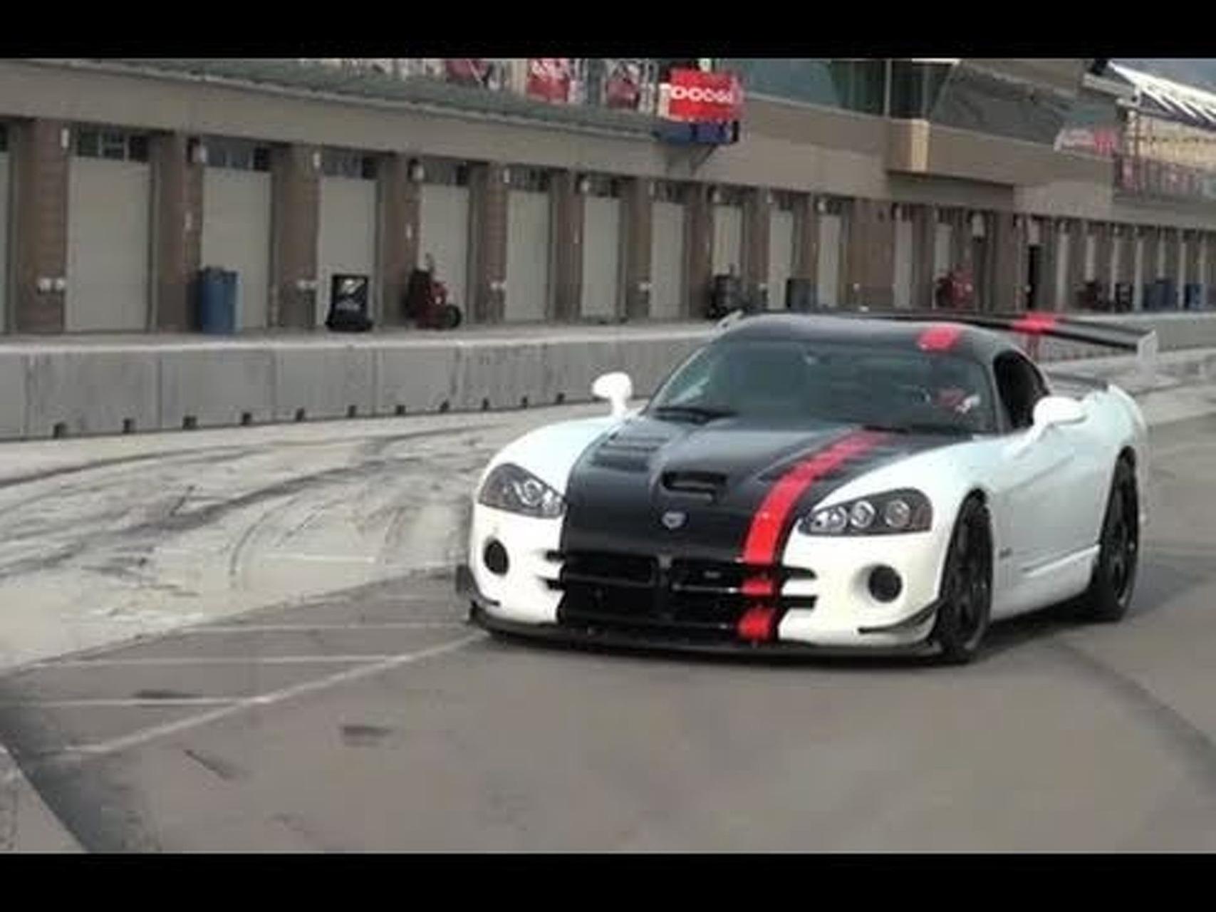 ► Dodge Viper SRT10 ACR-X Lap Record