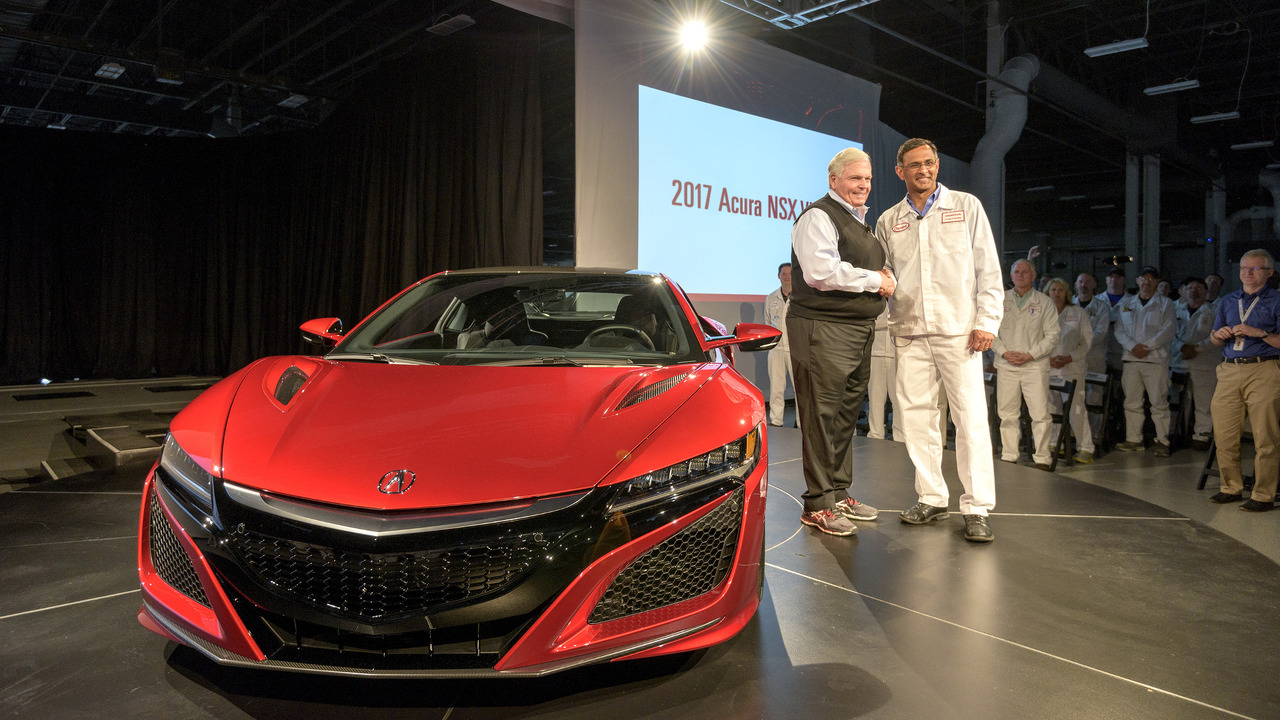 First production Acura NSX