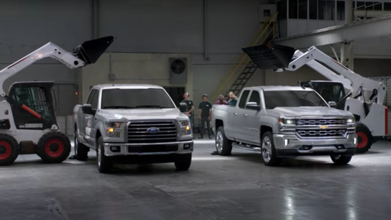 Chevy and Ford bed test