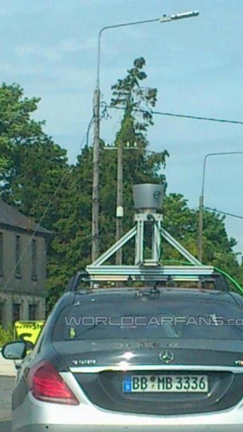 Another LIDAR-equipped Mercedes-Benz S-Class spotted by WCF reader