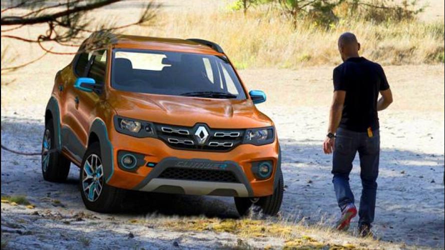Renault Kwid si fa più sportiva con le show car Climber e Racer