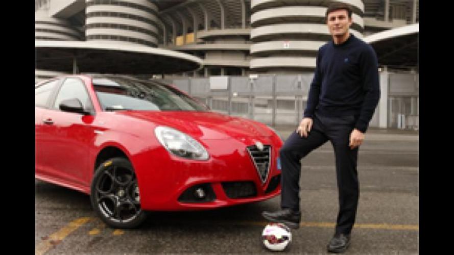 EXPO Milano 2015, Alfa Romeo partner dello Zanetti and Friends Match