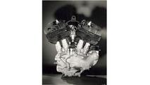 1929 Harley-Davidson Flathead engine