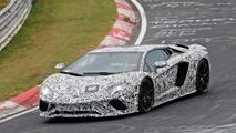 Lamborghini Aventador Refresh Spy Shots