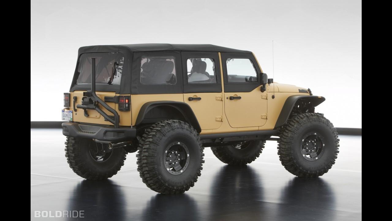 Jeep Wrangler Mopar Sand Trooper II