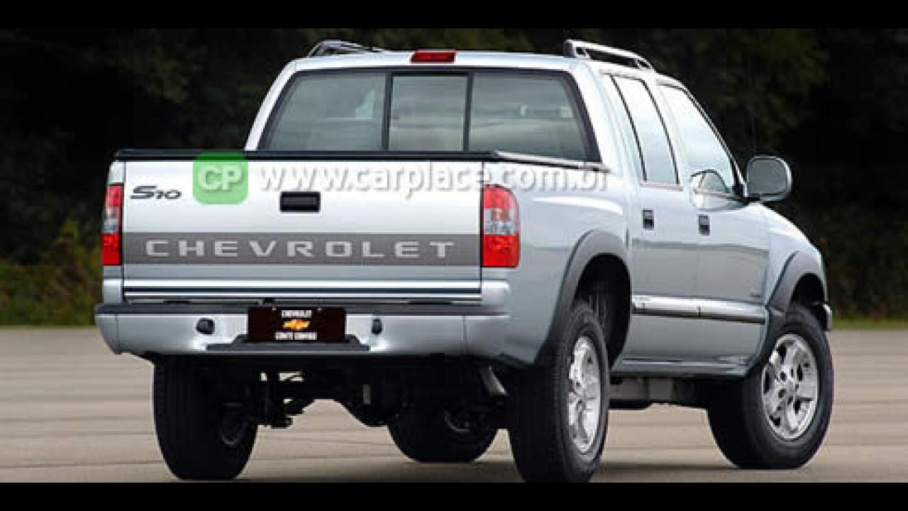 Chevrolet S10 lidera vendas de picapes médias em 2007