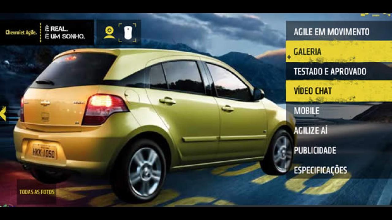 Chevrolet promove bate-papos com internautas para tirar dúvidas sobre o Agile