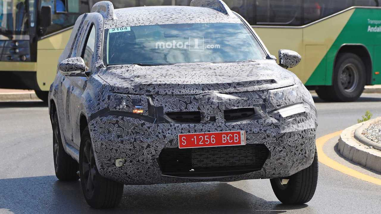 2018 dacia duster spied for the first time. Black Bedroom Furniture Sets. Home Design Ideas