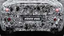 BMW M8 Camouflaged Teaser