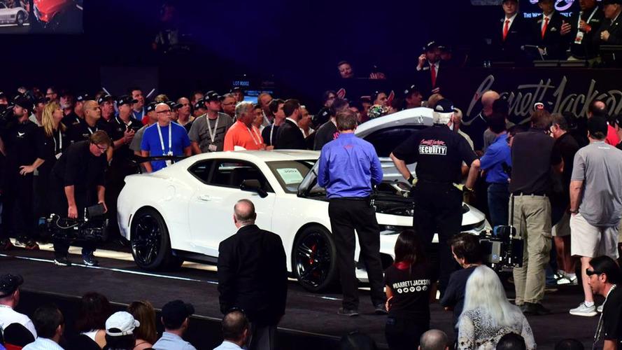 73 millió forintért kelt el az első 2018-as Chevrolet Camaro ZL1 1LE