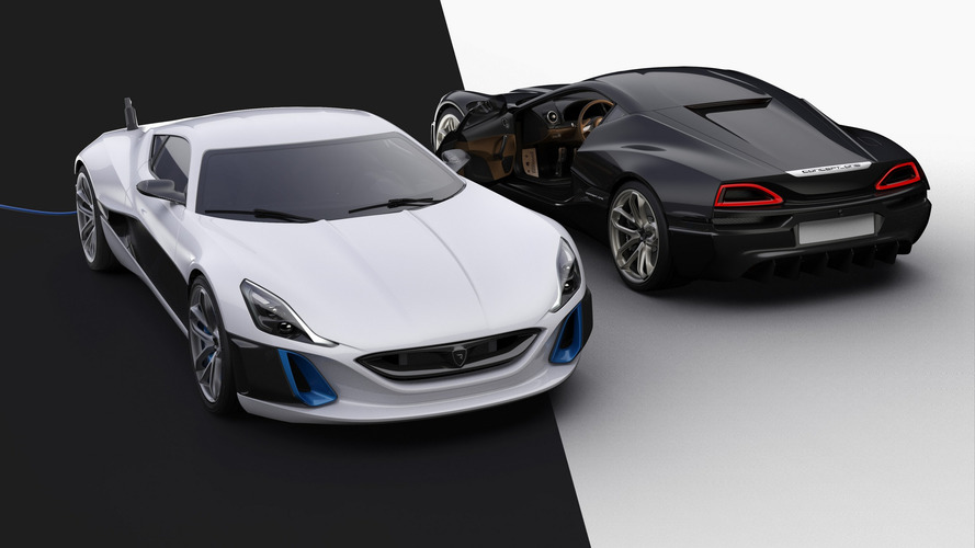 rimac concept one quietly upgraded to 1 224 horsepower. Black Bedroom Furniture Sets. Home Design Ideas